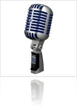 Audio Hardware : Shure Super 55 Deluxe Vocal Microphone - macmusic