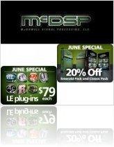 Industry : McDSP June Specials - macmusic