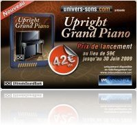 Virtual Instrument : UVI Soundpack Upright Grand Piano - macmusic