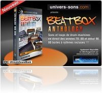 Virtual Instrument : Univers Sons / Ultimate Sound Bank introduces Beat Box Anthology - macmusic