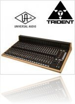 Industry : Universal Audio Announces Trident Audio As New Plug-in Partner - macmusic