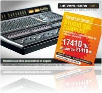 Industrie : Univers-Sons SSL Bundle Matrix - Economisez 4000 euros ! - macmusic