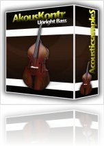 Virtual Instrument : AcousticsampleS Releases AkousKontr Upright Bass for Kontakt - macmusic