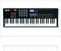 Informatique & Interfaces : Akai présente le MPK61 - nouveau clavier/contrôleur MIDI USB - macmusic