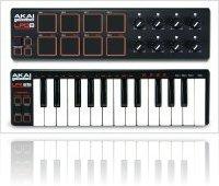 Informatique & Interfaces : 2 contrôleurs portables signés Akai - macmusic
