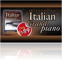 Instrument Virtuel : UVI Soundpack Italian Grand Piano - macmusic