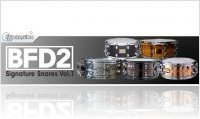 Instrument Virtuel : BFD Signature Snares Vol.1 Expansion Pack - macmusic