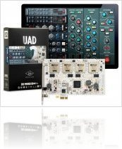 Computer Hardware : Universal Audio Introduces New UAD-2 Neve Powered Plug-Ins Lineup - macmusic