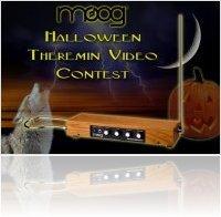 Event : Moog Halloween Theremin Video Contest - macmusic