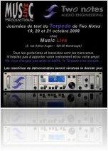 Mat�riel Audio : Le Torpedo en d�mo sur Paris - macmusic