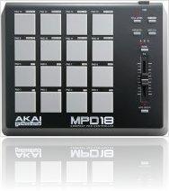 Computer Hardware : Akai MPD18 USB/MIDI pad controller is in the stores - macmusic