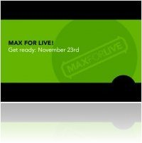 Music Software : Max for Live on November 23, 2009 - macmusic