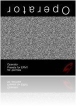 Misc : 9 Soundware Releases Operator EFM1 Presets - macmusic