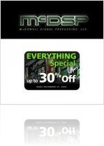 Industry : McDSP '30% off everything' promotion extended - macmusic