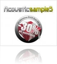 Virtual Instrument : AcousticsampleS Christmas Sale - macmusic