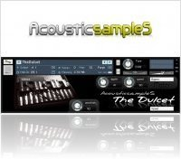 Instrument Virtuel : AcousticsampleS sort 'The Dulcet' - macmusic