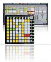 Plug-ins : Novation Launchpad Official Max For Live Melodic Step Sequencer - macmusic