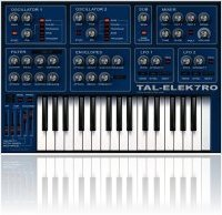 Virtual Instrument : Togu Audio Line TAL-Elek7ro updated to v2.50 - macmusic