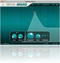 Plug-ins : FabFilter Micro - a mini filter plug-in - macmusic