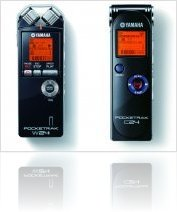 Audio Hardware : Yamaha Pocketrak W24 And C24 Portable Recorders - macmusic