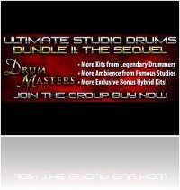 Music Software : Sonic Reality presents Ultimate Drum Masters Group Buy Volume 2 - macmusic
