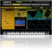 Virtual Instrument : Plogue releases Chipsounds Demo versions - macmusic