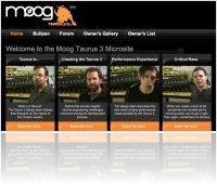 Matériel Musique : Site Web consacré au Moog Taurus 3 - macmusic