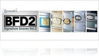 Virtual Instrument : BFD Signature Snares Vol.2 Expansion Pack - macmusic