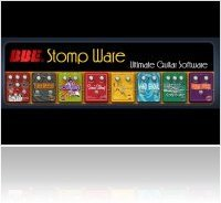 Plug-ins : 'Stomp Ware' - bundle de pédales guitare virtuelles - macmusic