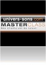 Evénement : Nouvelle MasterClass chez Univers Sons - macmusic