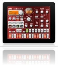 Instrument Virtuel : Korg iElectribe en version 1.1.0 - macmusic
