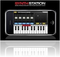 Music Software : Akai Pro SynthStation For iPhone, iPad and iPod Touch - macmusic