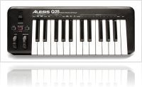 Computer Hardware : Alesis presents Q25 USB MIDI Keyboard - macmusic