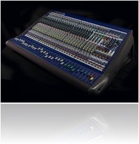 Audio Hardware : Midas new VeniceF - hybrid mixing desks - macmusic