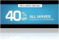 Plug-ins : 40% de réduction chez Waves - macmusic