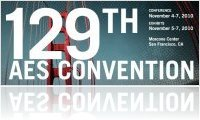 Evénement : 129th AES convention du 5 au 7 novembre - macmusic