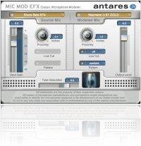 Plug-ins : Antares lance Mic Mod EFX - macmusic
