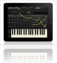 Virtual Instrument : Korg IMS-20 for iPad - macmusic