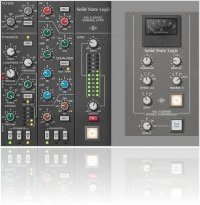 Plug-ins : UA releases SSL E Series Channel Strip and G Series Bus Compressor - macmusic