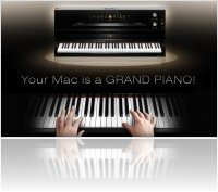 Instrument Virtuel : UVI.net Annonce UVI Grand Piano pour Mac - macmusic
