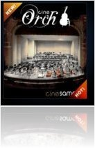 Instrument Virtuel : Cinesamples lance CineOrch - macmusic