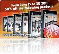 Virtual Instrument : Ultimate Sound Bank June Special - 50% off - macmusic