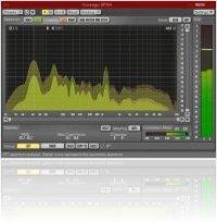 Plug-ins : Voxengo SPAN 2.3 FFT spectrum analyzer - macmusic