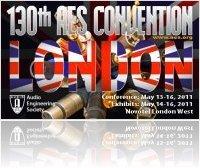 Evénement : 130° AES Londres 14 au 16 Mai - macmusic