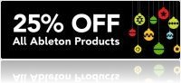 Music Software : 25% Off All Ableton Products - macmusic
