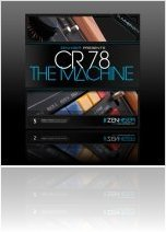 Virtual Instrument : CR78 - The Machine Out Today - macmusic
