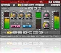 Plug-ins : Voxengo Crunchessor 2.7 Track Compressor Released - macmusic