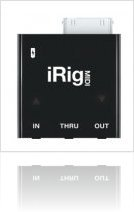 Informatique & Interfaces : Ik Multimedia iRig MIDI - macmusic