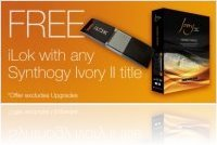Instrument Virtuel : ILok Offerte avec Synthogy Ivory II Pianos - macmusic