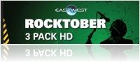 Virtual Instrument : Eastwest Offers 50% Off with Rocktober 3 Pack HD - macmusic